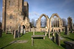 Graveyard in Scotland stock photo