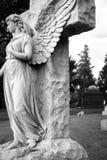 Graveyard sculpture Stock Images