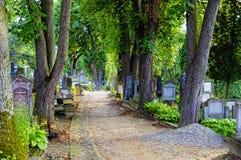 The graveyard in Sighisoara - Transylvania, Romania Stock Photography