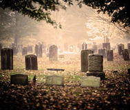 Graveyard Stock Photo