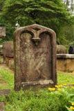 Graveyard tombstone Stock Photo