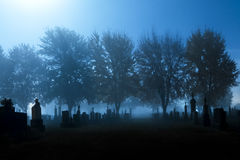 The graveyard Royalty Free Stock Images