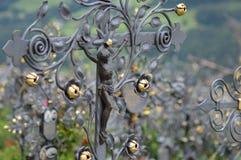 Graveyard of Villanders Royalty Free Stock Images