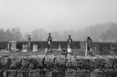 Graveyards and memories Stock Images