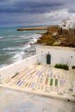 Graveyeard, Asilah, Maroc Photo libre de droits