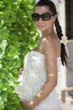gravid Arkivfoto