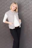 gravid kvinnlig royaltyfria bilder