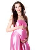 gravid sexigt kvinnabarn för stående Royaltyfri Foto