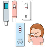 Graviditetstest Royaltyfri Bild