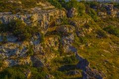 Gravina Di San Biagio grottaglie zdjęcie stock