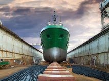 Graving dock Stock Photo