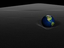 Gravitación universal ilustración del vector