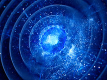 Gravitaional wave burst in pulsar Stock Images