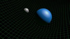 Gravitationvågor Arkivfoto