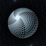 Gravity Sphere Royalty Free Stock Photo
