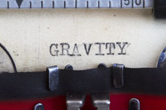 Gravity Royalty Free Stock Images