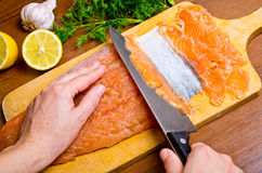 Gravlax Royalty Free Stock Photography