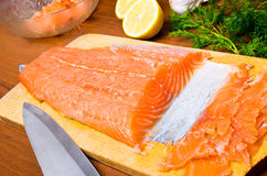 Gravlax Royalty Free Stock Photo