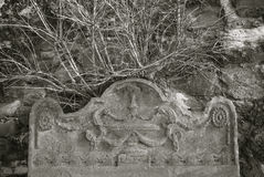 gravsten Royaltyfri Fotografi