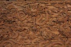Gravura da foto na madeira Imagens de Stock