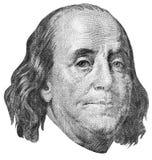 Gravura de Benjamin Franklin Imagens de Stock