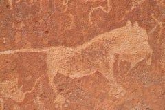 Gravuras da rocha Imagens de Stock