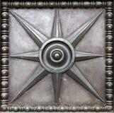 Gravure d'étoile en métal image libre de droits