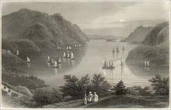 Gravure de Hudson photographie stock