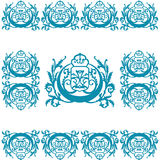 Gravure Logo Ornament Photo stock