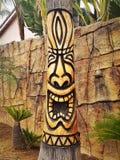 Gravure van de mythologie van tikigoden royalty-vrije stock afbeelding