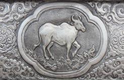 Gravure van de zilveren waarde Stock Afbeeldingen
