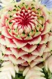 Gravure van watermeloen Royalty-vrije Stock Foto
