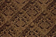 Gravures in Alhambra 2 Stock Foto's