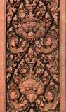 Gravures. De Tempel van Srei van Banteay. Angkor. Kambodja. Royalty-vrije Stock Foto's
