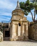 Gravvalv av Absalom, Jerusalem Royaltyfri Foto