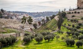 Gravvalv av Absalom, Jerusalem Royaltyfria Foton