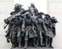 Gravvalv av den okända soldaten, Ottawa, Kanada royaltyfri bild