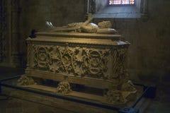 Gravvalv av den portugisiska utforskaren, Vasco da Gama Fotografering för Bildbyråer