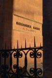 Gravvalv av filosofen Immanuel Kant Kaliningrad arkivfoto