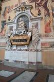 Gravvalv av Galileo Galilei royaltyfri bild
