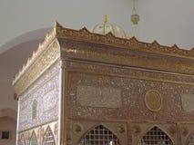Gravvalv av Jafar al-Tayyar i Jordanien Arkivbild
