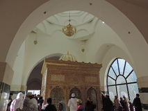 Gravvalv av Jafar al-Tayyar i Jordanien Arkivfoto