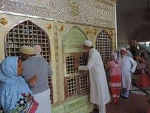 Gravvalv av Jafar al-Tayyar i Jordanien Royaltyfri Foto