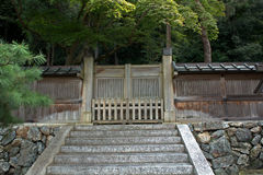 Gravvalv av kejsaren Komei, Kyoto, Japan Royaltyfri Foto