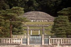 Gravvalv av kejsaren Meiji, Kyoto, Japan Arkivbild