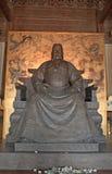 Gravvalv av kejsaren Yongle av Ming dynasti, Changping, Kina fotografering för bildbyråer