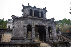 Gravvalv av Khai Dinh Royaltyfri Fotografi