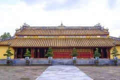 Gravvalv av konungen Thieu Tri i ton Arkivbild