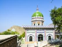Gravvalv av Mian Ibrahim Sahib på Amb Shareef Royaltyfri Fotografi