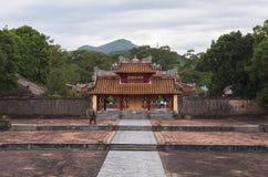 Gravvalv av Minh Mang King i ton, Vietnam Royaltyfri Fotografi